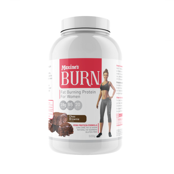 maxines burn protein powder